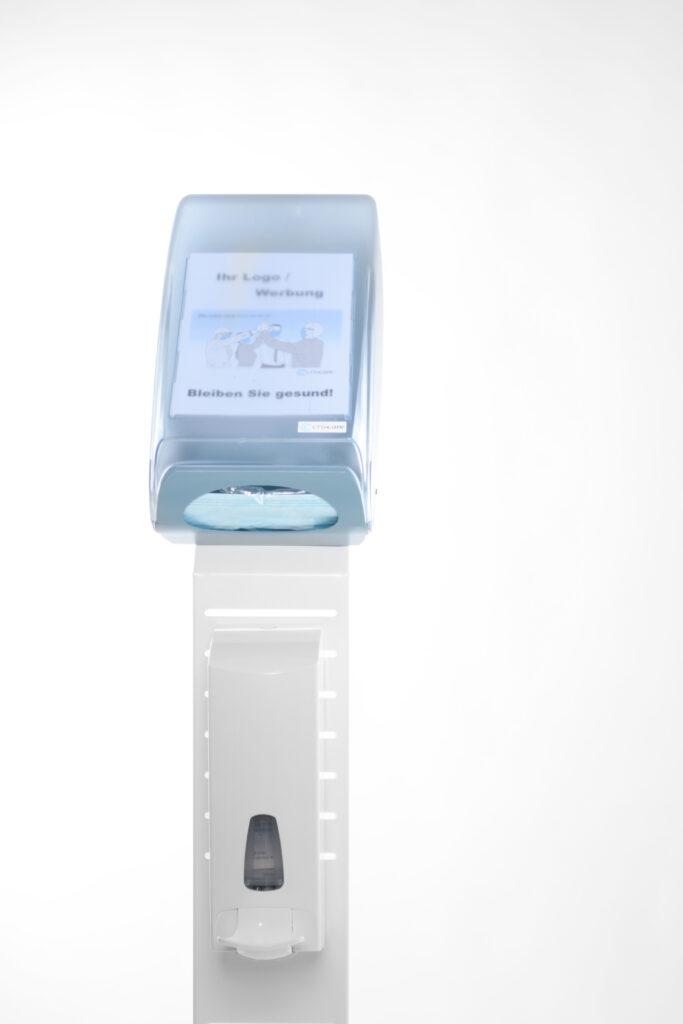 Mask-2-Go-Tower, Dispenser